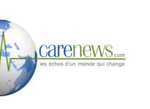 """CareNews CARENEWS.COM est une plateforme d'information grand public dédiée aux """"bonnes causes"""". Carenews vise à mieux faire connaître l'engagement sociétal des entreprises et l'action des associations et ONG pour entraîner chacun vers un monde plus responsable."""